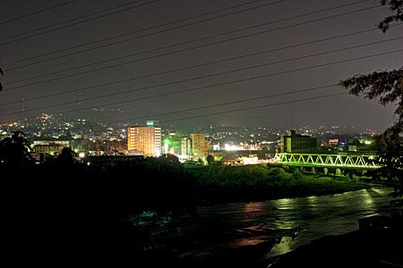 大正橋の夜景