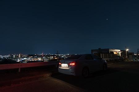 高田の夜景