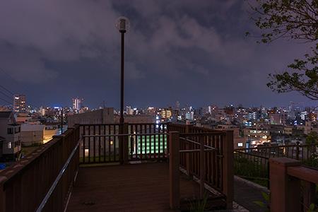 タカマサイ公園の夜景