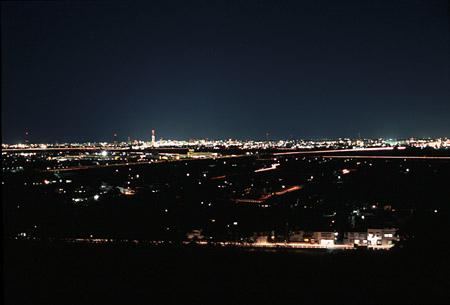 高見ヶ丘公園の夜景