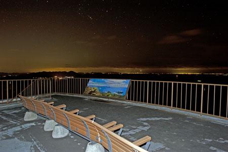 高見山の夜景