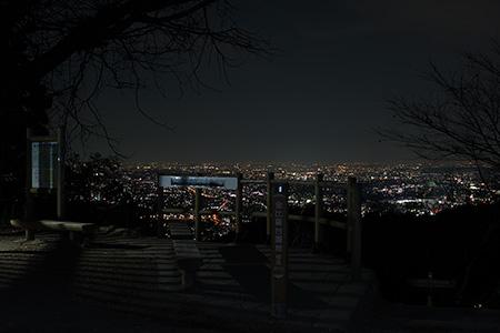 高尾山 金比羅台展望台の夜景