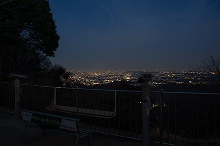 高尾山の夜景