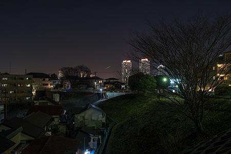 高島山公園の夜景