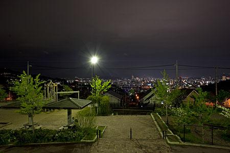 高須台中央公園の夜景