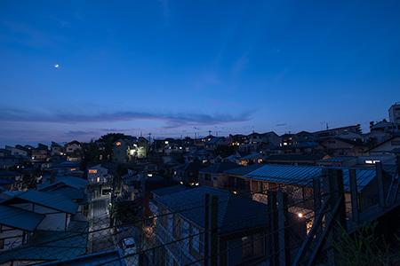 高田第5公園の夜景