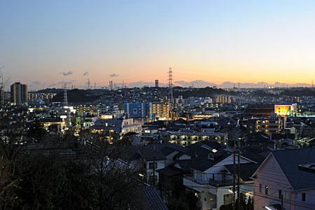 高田天満宮の夜景