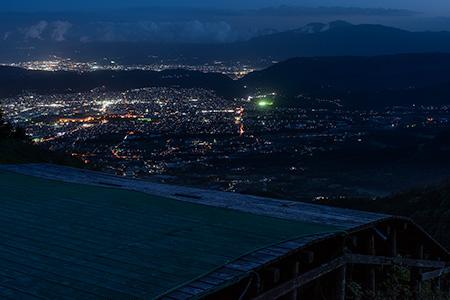 岳ノ台峠の夜景