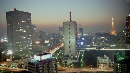 竹芝サウスタワーの夜景