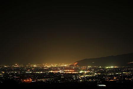 滝本院の夜景