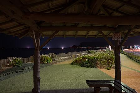啄木小公園の夜景