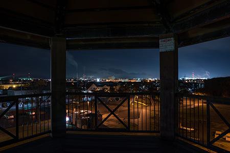 拓勇公園の夜景