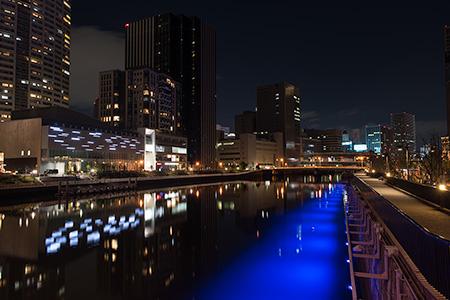 玉江橋の夜景