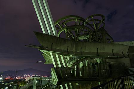 桃田運動公園 玉名天望館の夜景