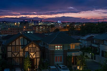 シーアイハイツ たまプラーザ・パークヒルズの夜景