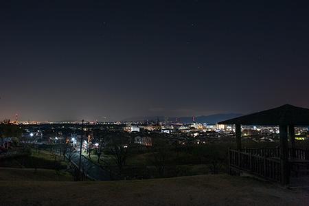 田辺公園 展望広場