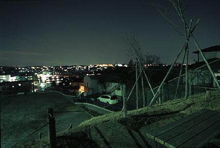 田奈第二公園の夜景