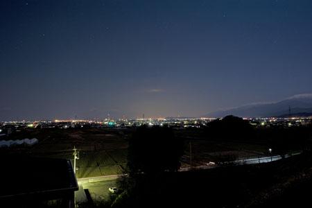 丹原総合公園の夜景