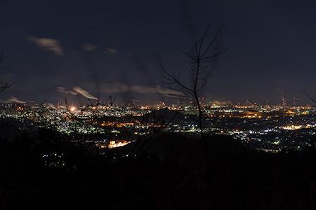 種松山の夜景