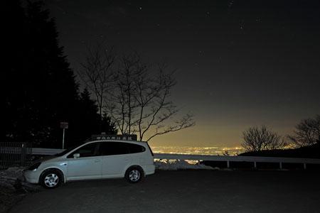 太良ヶ峠の夜景