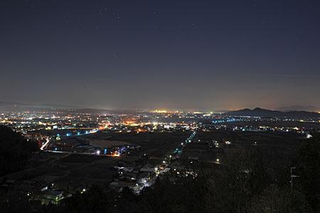 太郎坊宮の夜景