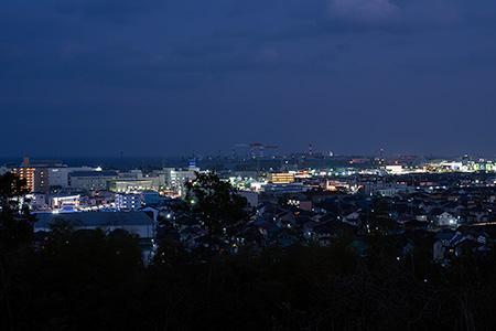 垂水ヒルズ公園の夜景