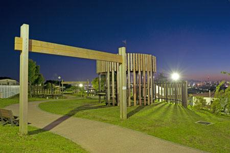 館鼻公園の夜景