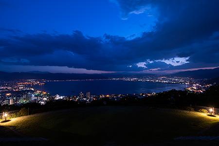 立石公園の夜景