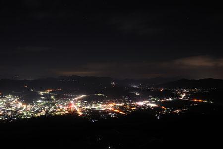 立岩展望台の夜景