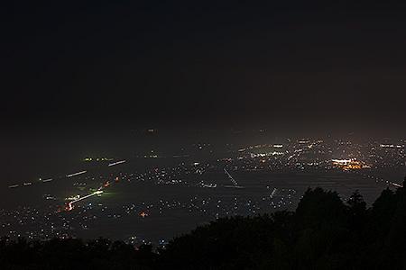 国分ハイテク展望台の夜景