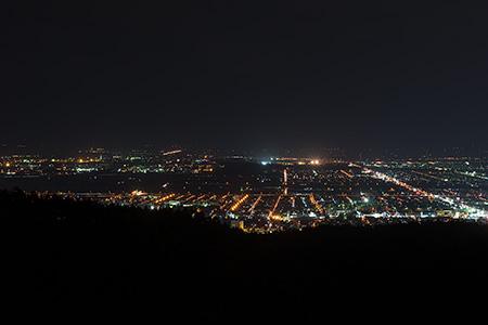 手稲橋の夜景