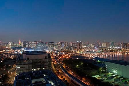 テレコムセンター 展望台の夜景