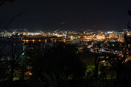 手宮公園の夜景
