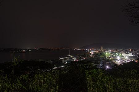 手向山公園の夜景