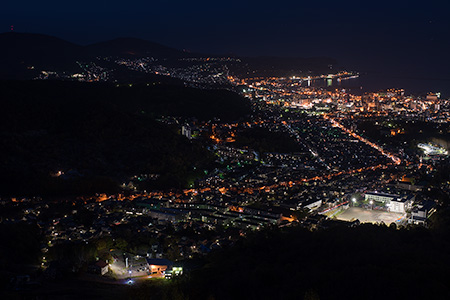 天狗山の夜景