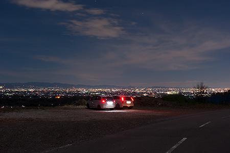 天神山麓の夜景