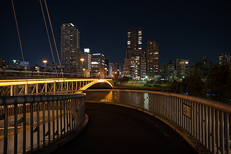 天神橋の夜景