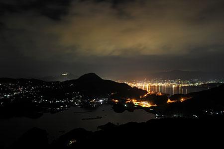 展海峰の夜景