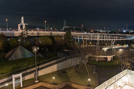 天王洲アイル第九公園の夜景
