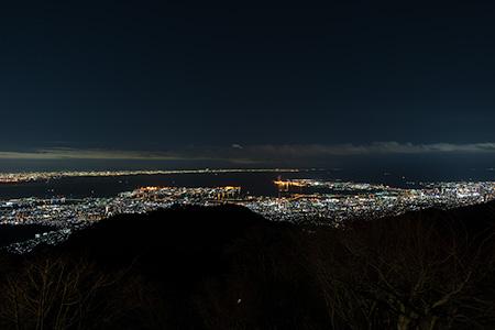天覧台の夜景