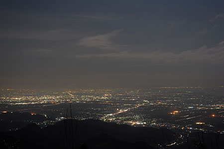 天山の夜景