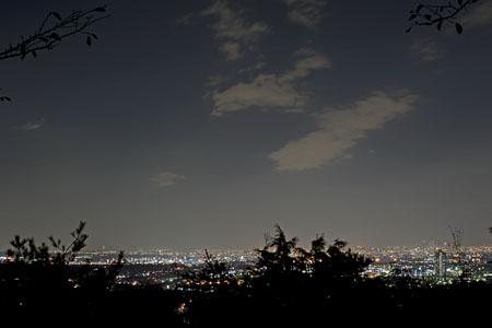 稚児神社付近の夜景