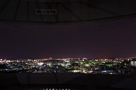 桃原公園の夜景
