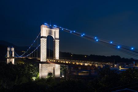 秦野戸川公園の夜景