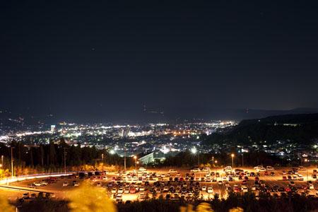 土岐プレミアム・アウトレットの夜景