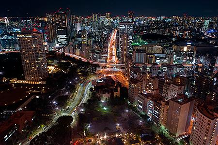 東京タワー メインデッキの夜景