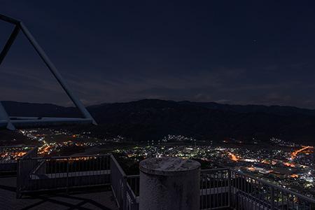 冨士山公園の夜景