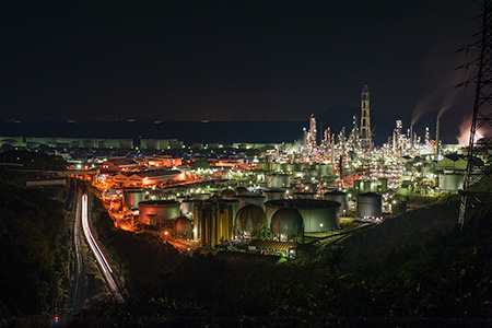 東燃ゼネラルの夜景