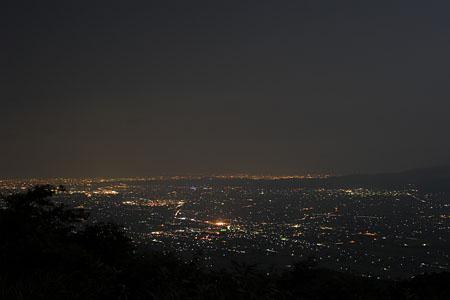 百万石道路の夜景
