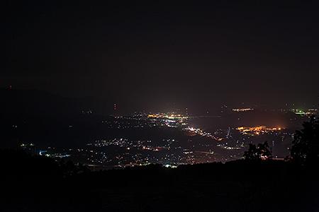 伊万里トラピスチヌ修道院近くの夜景